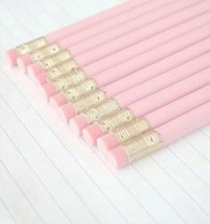 pink school supplies | Tumblr