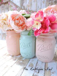 pink and mint centerpiece,pink mint nursery,pink mint bridal shower,pink mint baby shower,pink and mint wedding,pink and mint party,mint