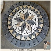 Slate Mosaic,Glass Mosaic: Stone Mosaic Tile,Glass Mosaic,Backsplash Mosaic -Page 3 Mosaic Tile Table, Mosaic Tray, Stone Mosaic Tile, Mosaic Backsplash, Mosaic Glass, Stained Glass, Glass Art, Tile Crafts, Mosaic Crafts