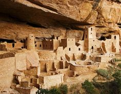 Mesa Verde...climbing those ladders was a little scary, but it was amazing!