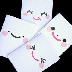 Pour faire ses cartes homemade avec 3 feutres seulement mais Yummy Kawaii résultat :)