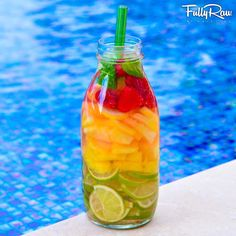 The FullyRaw Brazilian Limeade! So refreshing, so sweet, so irresistible, it will add a little SAMBA into your step!  New recipe video here: http://youtu.be/UkAwSpDbQN4