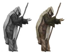 Fantasy Thief Concept Art Beggar/spy - concept art by n-