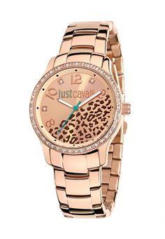 Just Cavalli Mod. Unusual Watches, Pandora, Stainless Steel Bracelet, Gold Watch, Omega Watch, Rolex Watches, Bracelet Watch, Quartz, Rose Gold