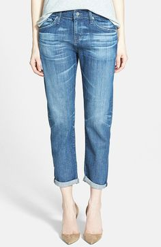 The Only 9 Denim Pieces You Need to Own:  Boyfriend-Fit Jeans