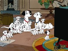 Today, you can celebrate one of Disney's most revered and historically significant animated movies of all time. 101 Dalmatians: Diamond Edition is now on Blu-ray, and Disney went BIG for this milestone. Disney Films, Disney Pixar, Great Disney Movies, Heros Disney, Disney E Dreamworks, Disney Dogs, Disney Couples, Cute Disney, Disney Art