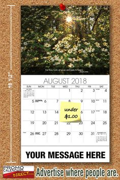 2021 Christian Faith wall calendars - low as Fundraise for your Church or School. Promote your Business in the homes and offices of people in your area every day! Calendar Themes, Calendar App, School Calendar, Print Calendar, Advertise My Business, Post Free Ads, Investing In Stocks, Brand Building, The Marketing