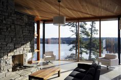 Casa del Acantilado / Altius Architecture Inc Cliff House / Altius Architecture Inc – Plataforma Arquitectura