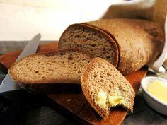 Antipastaa: Paahtoleipä / vuokaleipä (viljaton, gluteeniton, maidoton, ilman kookosta) Keto, Bread, Food, Brot, Essen, Baking, Meals, Breads, Buns