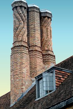 Meadow Brook Hall has 24 fireplaces with 39 chimneys.