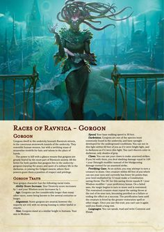 Homebrewing races Races of Ravnica - - homebrewing Dungeons And Dragons Races, Dungeons And Dragons Classes, Dnd Dragons, Dungeons And Dragons Homebrew, Dungeons And Dragons Characters, Dnd Characters, Fantasy Creatures, Mythical Creatures, 5e Races