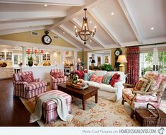 15 Close to Perfect Traditional Open Living Room Ideas | Home Design Lover