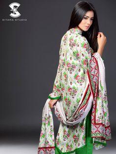 Shop online: www.sitarastudio.pk #SitaraStudio #SitaraSapna #Lawn #SummerCollection #Newcollection #VolumeTwo #Fashion #Style #Trendy