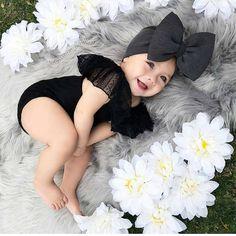 Bild über Mädchen in Mode von -`ღ´- ρяεттү ιη ριηк Ձ-`ღ´- - - So Cute Baby, Cute Baby Clothes, Cute Babies, Babies Clothes, 6 Month Baby Picture Ideas, Baby Girl Pictures, Newborn Pictures, Twin Baby Photos, Toddler Pictures