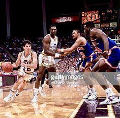 John Stockton, Karl Malone, Utah Jazz, Nba, Basketball Court, Wrestling, Sports, Style, Netball