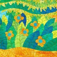Tiled Grasses Collage