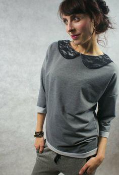 bluzka dzianinowa (proj. drops), do kupienia w DecoBazaar.com