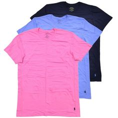 awesome Classic Crew Neck T-Shirts 3-Pack
