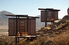 Cabanes de luxe au Mexique