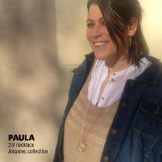 PAULA / 2ct necklace, Amantes collection #amaliaaround