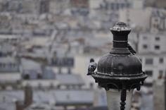 Birdseye view of Paris