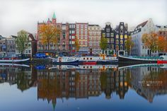 Amstel River-Amsterdam by Nathalie Stravers on 500px