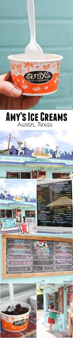 Amy's Ice Creams in Austin, TX  #Austin