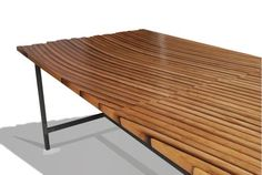 Oak Wine Barrel Coffee Table : 11 Steps (with Pictures) - Instructables Reclaimed Wood Coffee Table, Wood Table, Salvaged Wood, Wine Barrel Coffee Table, Coffee Tables, Unfinished Wood Furniture, Rustic Furniture, Furniture Design, Furniture Plans
