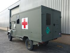 Land Rover 130 Defender Wolf LHD Ambulance - Search_By_Manufacturer - L.Jackson and Co » For Ex Army Trucks Specialist Military vehicles, Ex. Mod Sales and Nato plant and equipment for sale and export