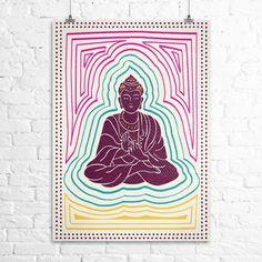 Pôster Buda Energia Lombok, Color Inspiration, Diy And Crafts, Zen, Art Ideas, Sketches, Wallpapers, Album, Studio