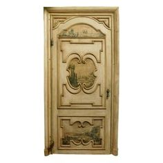 century lacquered door Painted on both sidesDimensions of the door: 110 cm x 255 cm heightDimensions of the frame: 138 cm x 270 cm height. Antique Furniture, Modern Furniture, Door Gate, Antique Paint, Painted Doors, Architectural Salvage, Painting Frames, French Doors, 18th Century