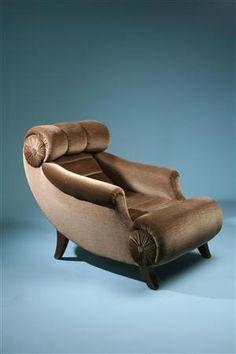 Designed by Adolf Loos, Austria. 1920's.