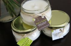 100% all-natural Soy Candles!