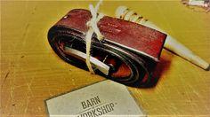 Кожаный ремень - Сognac by BARNxWORKSHOP on Etsy