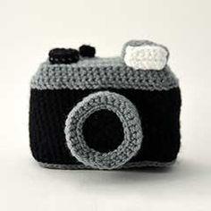 Vintage Photo Camera amigurumi crochet pattern by The Flying Dutchman Crochet Design