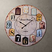 """H23"""" Autique Style Wall Clock – USD $ 49.99"""