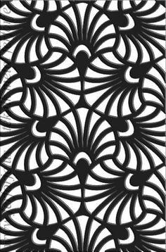 lazer kesim modern paravan motifi 021Teknik Metal Ferforje - TÜRKİYE