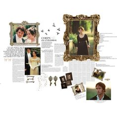 P Collage, created by janeaustenaddict on Polyvore