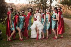 Super Hero Wedding?!