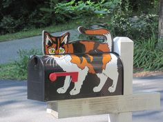 I Believe this is the Fourth Cat Mailbox, But They're All Different and All cute.