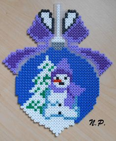 Christmas – Famous Last Words Quilting Beads Patterns Christmas Perler Beads, Beaded Christmas Ornaments, Christmas Christmas, Pearler Bead Patterns, Perler Patterns, Quilt Patterns, Motifs Perler, Hama Beads Design, Peler Beads