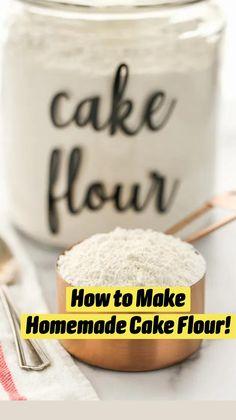 Baking Basics, Baking Tips, Baking Recipes, Dessert Recipes, Food Basics, Cake Recipes, Desserts, Food Substitutions, Baking Supplies