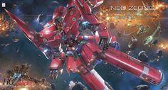 HGUC NZ-999 Neo Zeong HG 1/144 - Gundam Toys Shop, Gunpla Model Kits Hobby Online Store, Diorama Supply, Tamiya Paint, Bandai Action Figures Supplier