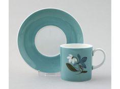 Wedgwood Susie Cooper Design jade 'Flower Motif' pattern For Reference