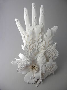 Cut Paper Sculptures and Illustrations by Elsa Mora sculpture paper illustration