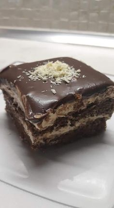 Greek Sweets, Greek Desserts, Party Desserts, Sweets Recipes, Cookie Recipes, Greek Cookies, Homemade Granola Bars, Peanut Butter Desserts, Chocolate Sweets