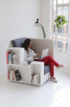 「こんな環境で読書してみたい!」本好きにとって夢のような20の家具:らばQ