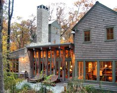 Love this! Exterior Shingles Mix Of Color Design, Pictures, Remodel, Decor and Ideas - page 4