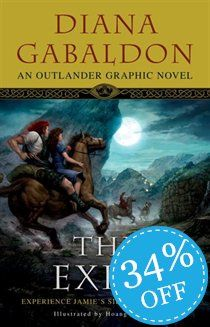 The Exile: An Outlander Graphic Novel - Diana Gabaldon &.: The Exile: An Outlander Graphic Novel - Diana Gabaldon & Hoang… Outlander Novel, Outlander Book Series, Outlander Books In Order, Outlander Gifts, Diana Gabaldon Books, Diana Gabaldon Outlander Series, Jamie Fraser, Claire Fraser, Thomas Brodie Sangster