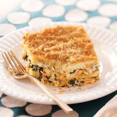 Meatless Spinach Lasagna, I would add fresh basil to this recipe
